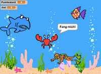 Scratch Spiel Unterwasserwelt