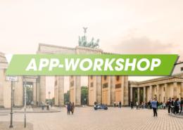 Hoher Besuch beim App Workshop in Berlin
