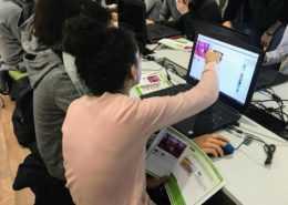 Scratch Kurs in der Jugendbibliothek App Camps