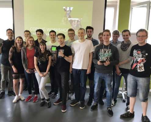 Gruppenbild Otto Workshop App Entwicklung