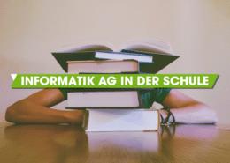 Informatik AG in der Schule: Mit Unterrichtsmaterial von App Camps