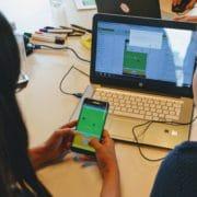 Schüler programmieren Apps