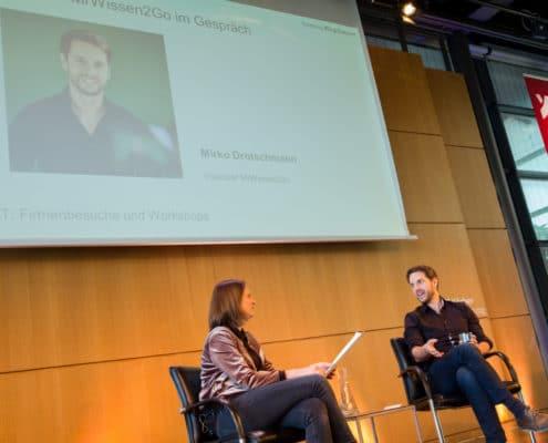 Mirko Drotschmann beim Digital Summit