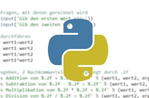 Unterrichtsmaterial zu Programmieren mit Python