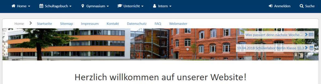 Webseiten im Unterricht