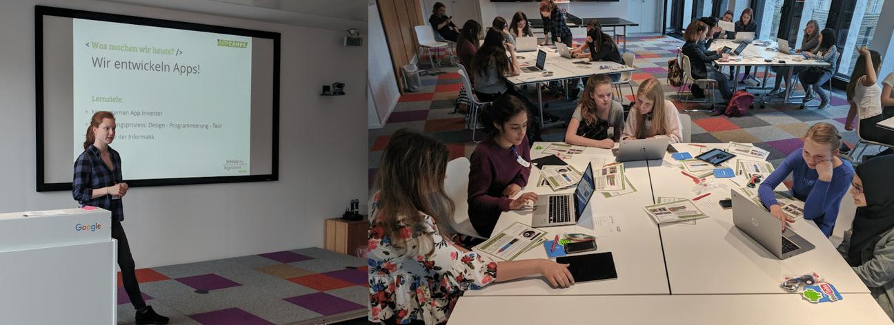 Programmieren lernen beim Girlsday