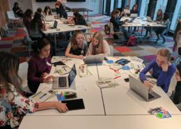Programmieren lernen beim Girlsday 2018