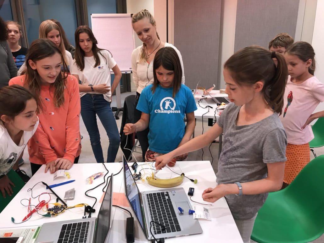 Programmieren lernen mit Calliope Mini