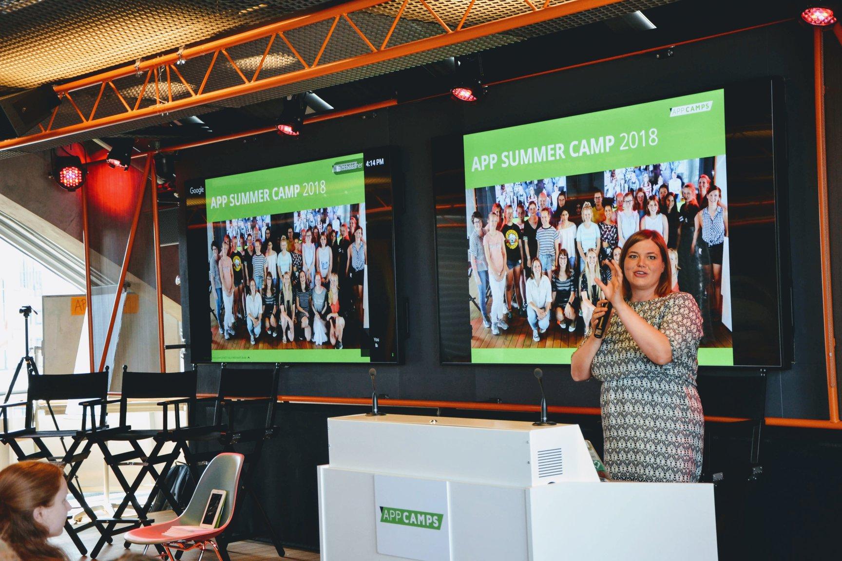 Katharina Fegebank App Summer Camp