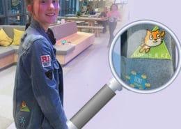 Künstliche Intelligenz beim Mädchen Digital Club