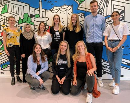 Gruppenbild Coaches Künstliche Intelligenz Summer Camp