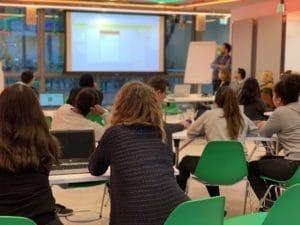 Schüler Workshop Digitalisierung