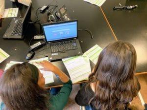 Schüler bereiten Lebenslauf vor
