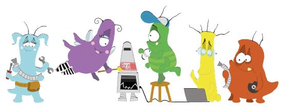 Bugs aus dem Scratch Buch
