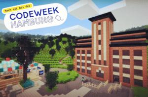 Code Week Hamburg in Minetest