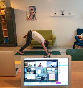 Live Webinar zur Yoga App mit Yoga Einheit