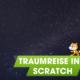 Traumreise in Scratch - Katze im Weltraum