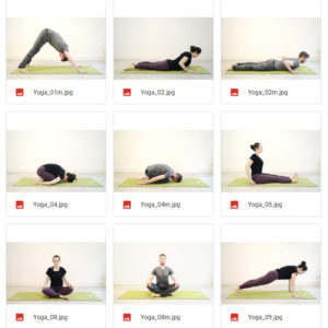 Yogaposen
