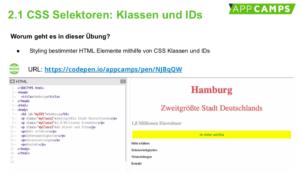 HTML Sitzung 2