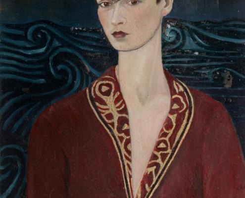 """Dieses Selbstporträt Kahlos ist nur eines von vielen Ausstellungsstücken in """"La Casa Azul"""". © Museo Frida Kahlo"""