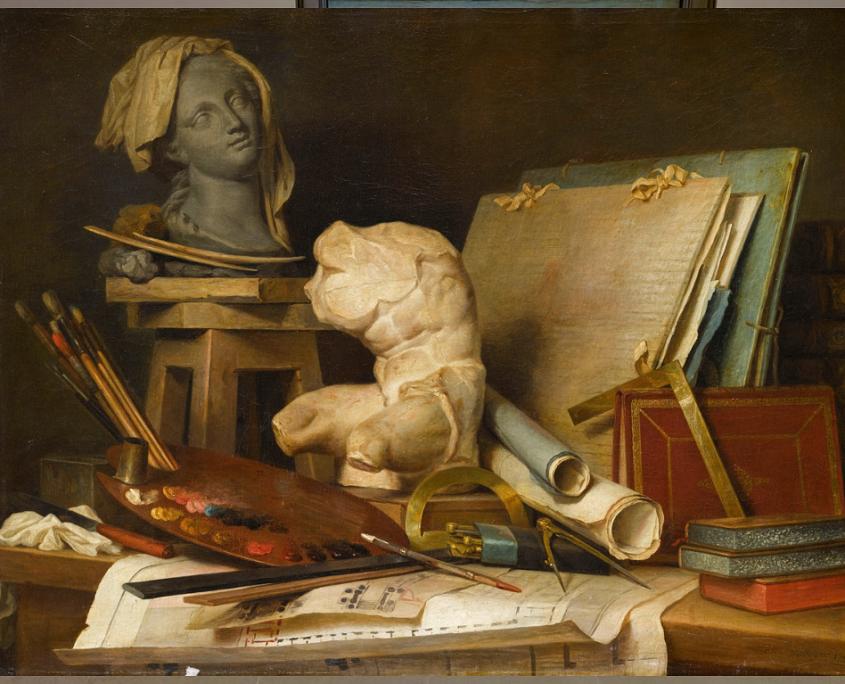 Der Louvre glänzt mit seinen Interaktionsmöglichkeiten innerhalb der Ausstellung. © Louvre