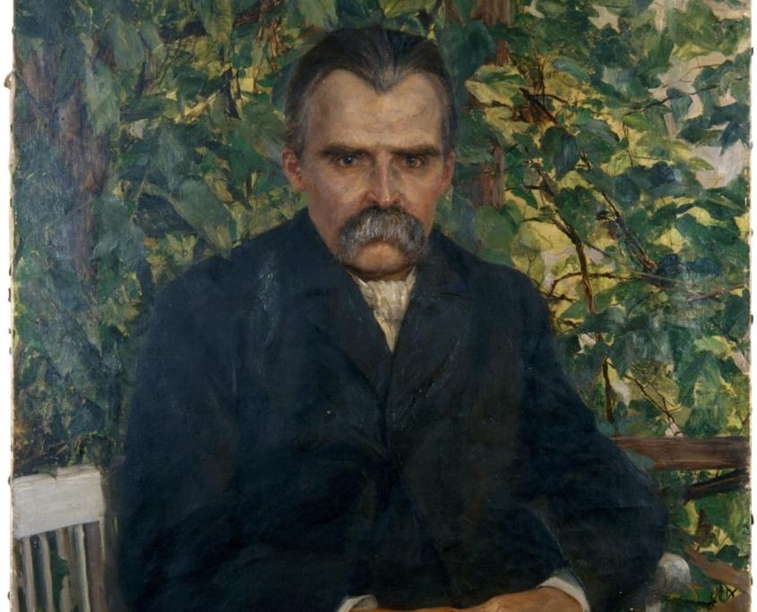 Das früheste Nietzsche-Gemälde. © Stiftung Weimar