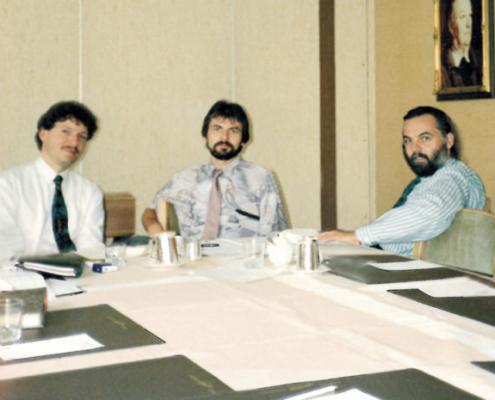 1988 wurde Vector Informatik GmbH gegründet und setzte somit den Grundbaustein der Vector Stiftung. © Vector Stiftung