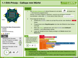Lernkarte zum EVA-Prinzip