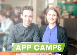 Die App Camps Geschichte: Ein Portrait des Gründerpaares