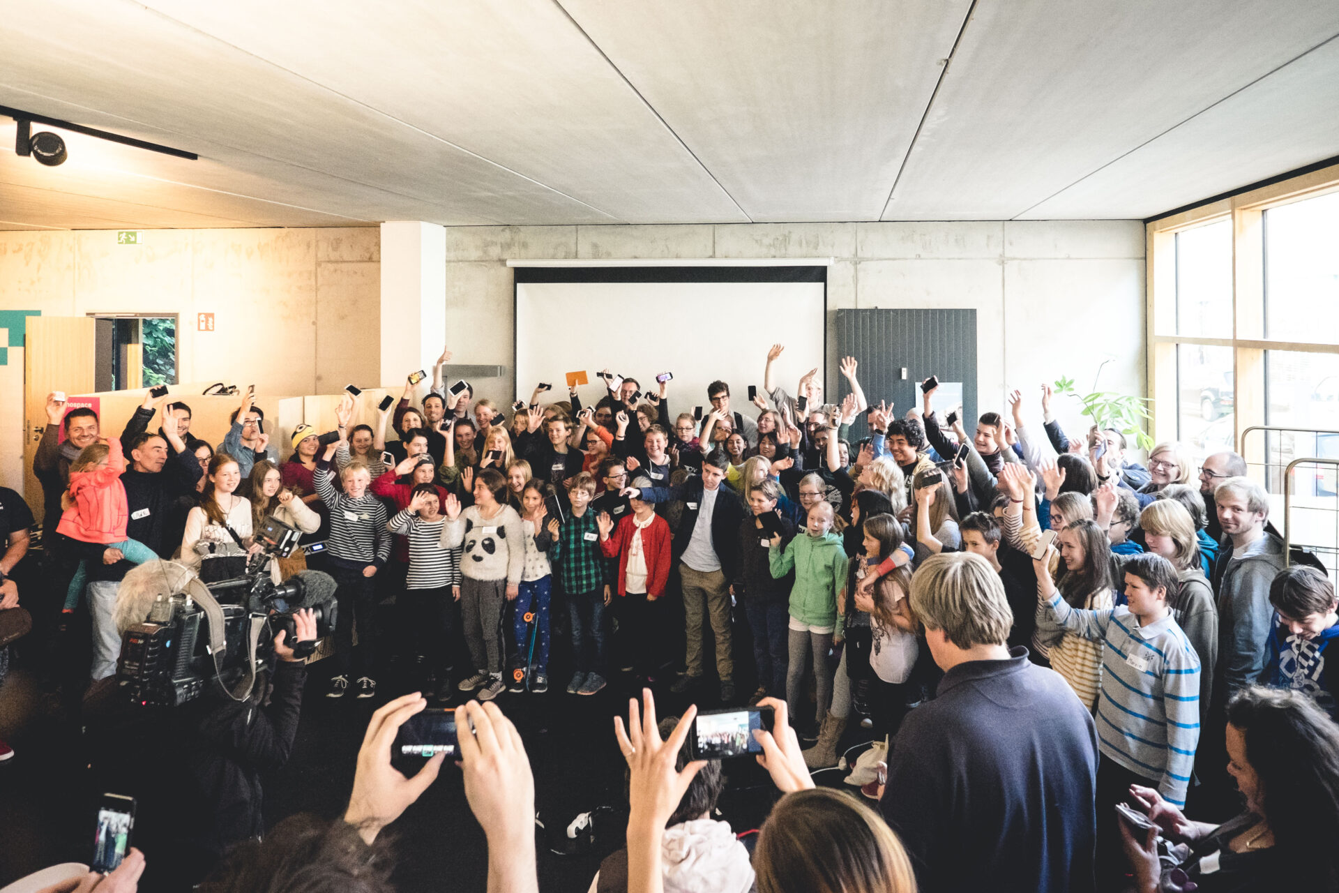 App Summer Camp TeilnehmerInnen