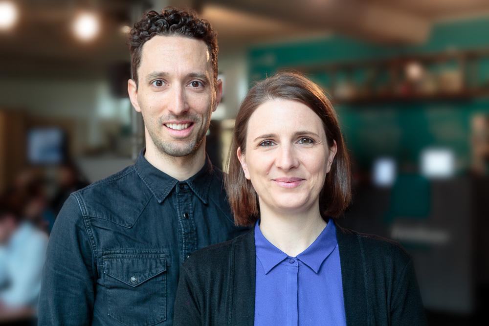 Die App Camps Gründer Diana und Philipp Knodel
