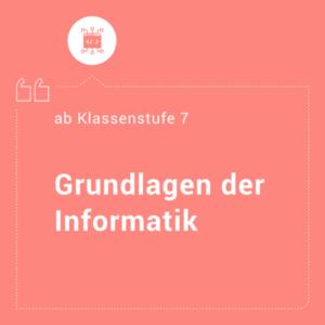 Grundlagen Informatik